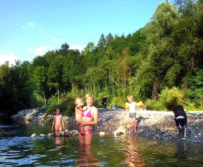 Poletje na reki